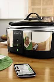 wifi cooker crock pot sccpwm600 v2 wemo smart wifi enabled slow cooker 6 quart