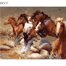 Equine Home Decor by Online Get Cheap Digital Horses Aliexpress Com Alibaba Group