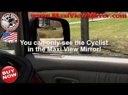Blind Spot Mirrors For Motorcycles Motorcycle Mirror Maxi View Blind Spot Mirrors Worlds Best