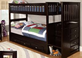 futon white wood frame twin over futon bunk bed with brown