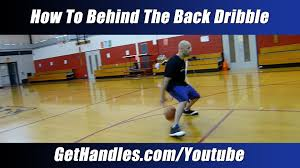 Hit The Floor Killer Crossover - how to behind the back dribble tutorial basketball basics