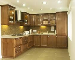 modular kitchen design for small area interior dining home kerala