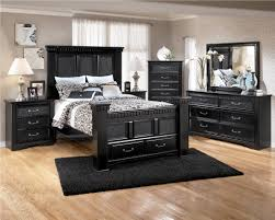 furniture wooden modern home furniture applied in dining room luxury black modern home furniture combined with sweet black bed decoration and artistic floral cushion