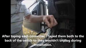 how to install toggle switch for an electric fan on radiator 1993