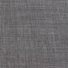 British Upholstery Fabric Slate Grey Soft Plain Linen Look Home Essential Designer Linoso