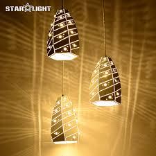 Indoor Pendant Lights Aliexpress Com Buy Crack Light Series Modern Led Pendant Light