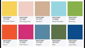 color of year pantone colors of the year 2017 color fashion trends 2017 youtube