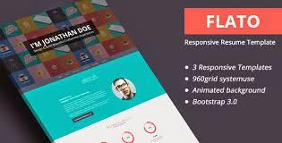 Bootstrap Resume Template Bootstrap 3 Resumes And Cv Templates Arjun Amgain Pulse Linkedin