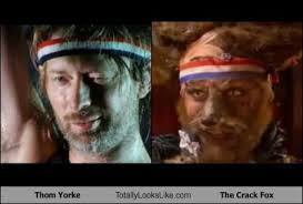 Thom Yorke Meme - thom yorke totally looks like the crack fox randomoverload