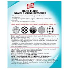 amazon com simple solution hardfloor pet stain u0026 odor remover