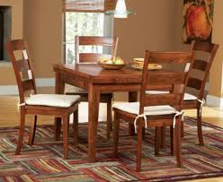 Cheap Dining Room Furniture Melbourne Tobacco 5 Pc Square Dining Set Dining Room Sets Dark Wood