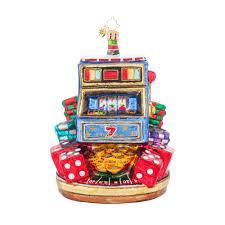radko 1017982 jackpot las vegas slot machine ornament new home 2015