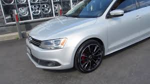 volkswagen jetta 2017 black 2012 volkswagen jetta with custom 18 inch black rims youtube