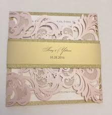 laser cut invitations laser cut wedding invitations blush laser cut invitation
