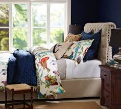 Pottery Barn Upholstered Bed 10 Fab Tufted And Upholstered Beds 15 Off During Pottery Barn U0027s