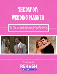 Day Of Wedding Coordinator Wedding Planners Web Pages And More Rehash Media Llc