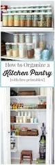 how to organize a kitchen pantry just a and her blog