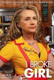 Two Broke Girls Memes - hillary clinton s ridiculous new sitcom mad magazine