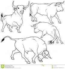 sélection de coloriage taureau à imprimer sur laguerche com page 1