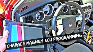 how to program engine computer ecu dodge charger dodge magnum