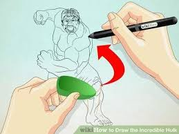 image titled draw incredible hulk step 5 hulk