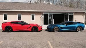 corvette z51 vs z06 nose to nose modded z51 vs z06 comparison corvetteforum