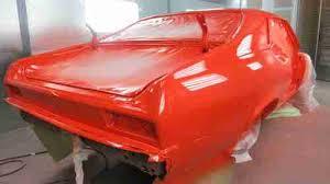 purchase new 1971 nova new roller new hugger orange paint