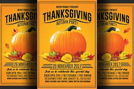thanksgiving flyer photos graphics fonts themes templates