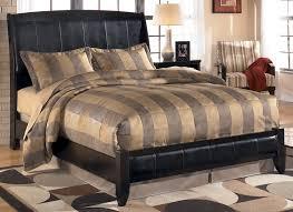 King Platform Bedroom Sets Harmony King Size Sleigh Platform Bed By Signature Design