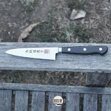 al mar kitchen knives al mar kitchen utility 4 75 inch knife with black pakkawood handle