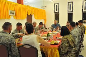deputy of defense bob work spent thanksgiving at auab