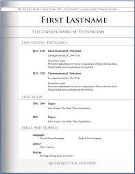 Microsoft Word Free Resume Templates Download A Resume Template Free Resume Templates Download For