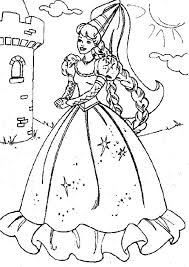 colouring pages print barbie barbie fairies coloring pages