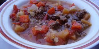 crock pot root vegetable ground beef stew recipe genius kitchen