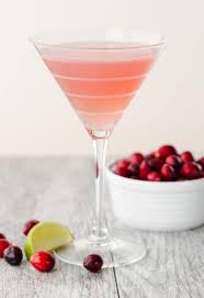 martini cranberry metropolitan martini recipe garnish with lemon