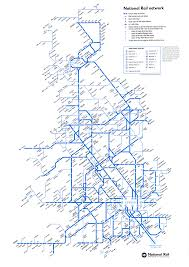 Blank Map Britain by Online Maps Uk Train Map