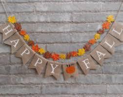 burlap thanksgiving banner rustic fall banner rustic happy fall burlap banner fall