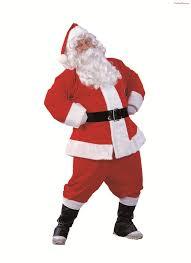 santa claus costume velvet santa claus suit costume