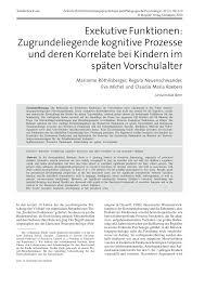 G Stige Sch E K Hen Exekutive Funktionen Zugrundeliegende Kognitive Prozesse Und
