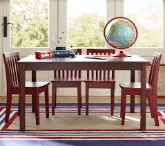 Dining Room Table And Chair Set Carolina Large Table U0026 4 Chairs Set Pottery Barn Kids