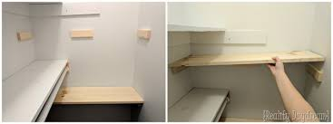 How To Build Shelves In Closet by Add Closet Shelving To Any Basic Closet Reality Daydream