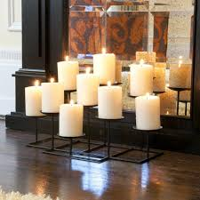 interior appealing fireplace candelabra design for inspiring