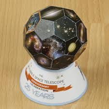 paper truncated icosahedron soccer ball or football