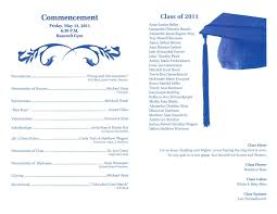 ceremony program templates designs printable free graduation ceremony program templates