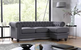 fabric chesterfield sofa hton slate fabric chesterfield corner sofa l shape only 799 99