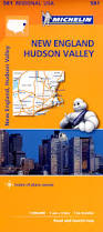 New England Usa Map by 581 Michelin Map Usa New England U0026 Hudson Valley Usa Maps