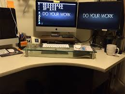 my standing desk experiment reinhart marketing bridgewater nj