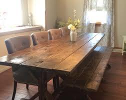Rustic Farmhouse Dining Room Tables Original Farmhouse Dining Room Table Goodworksfurniture