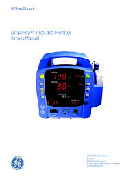 gehc service manual dinamap procare monitor 2008 safety waste