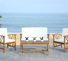 Dining Chairs With Cushions Lark Manor Medora 4 Piece Outdoor Dining Set With Cushions